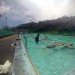 屋久島で、水辺・海辺の安全教室なんか