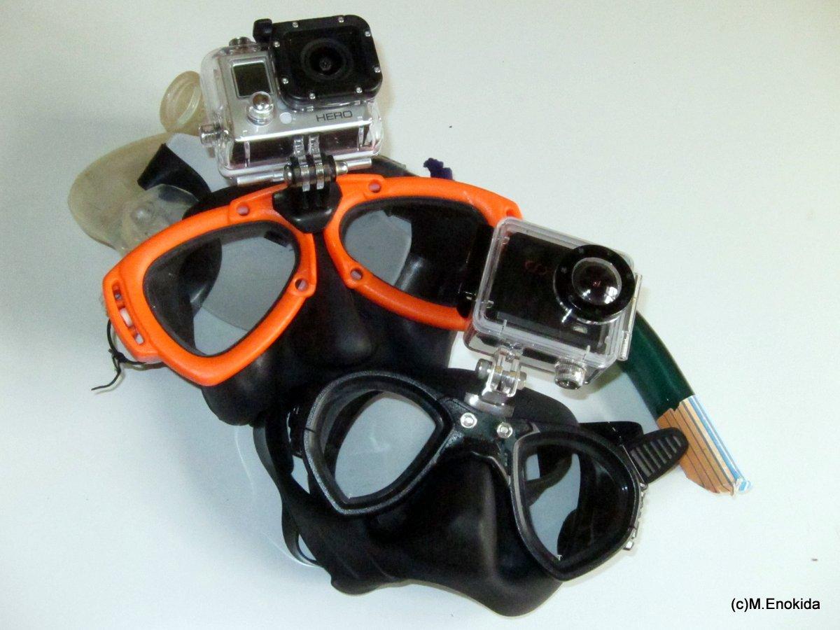 マスクマウント ウェアラブルカメラ