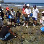 島の子供たちと一緒にサンゴを見る・観る・診る。