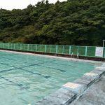 屋久島の海・川で プールの押しかけ先生(笑)