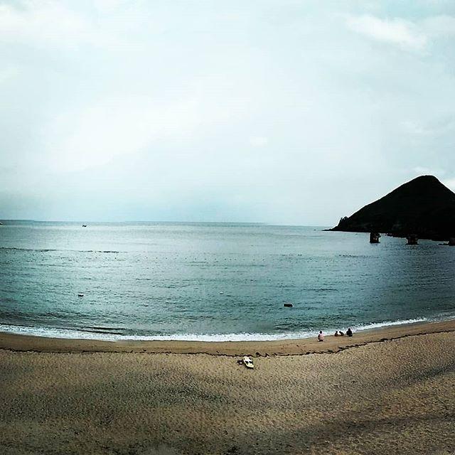 屋久島の海・川で。